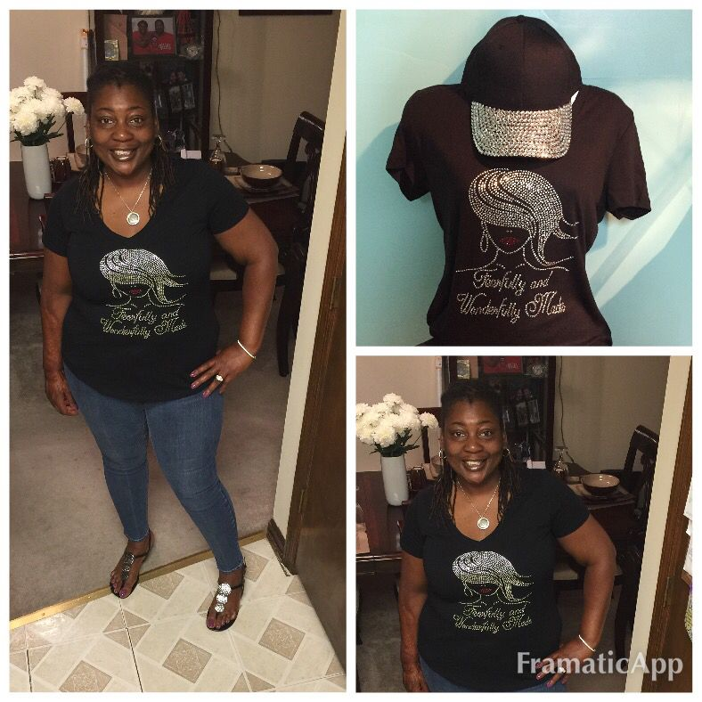 Fearfully and wonderfully fearfully made tee