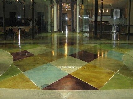 Get Information On Por Concrete Floor Colors Such As Brown And Gray Well Non Traditional White Red