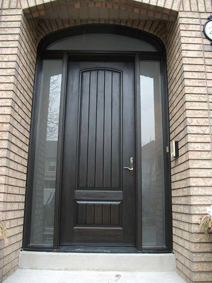 Window Transom Fan Front Door Google Search Fiberglass Exterior Doors Double Doors Exterior Wood Front Entry Doors