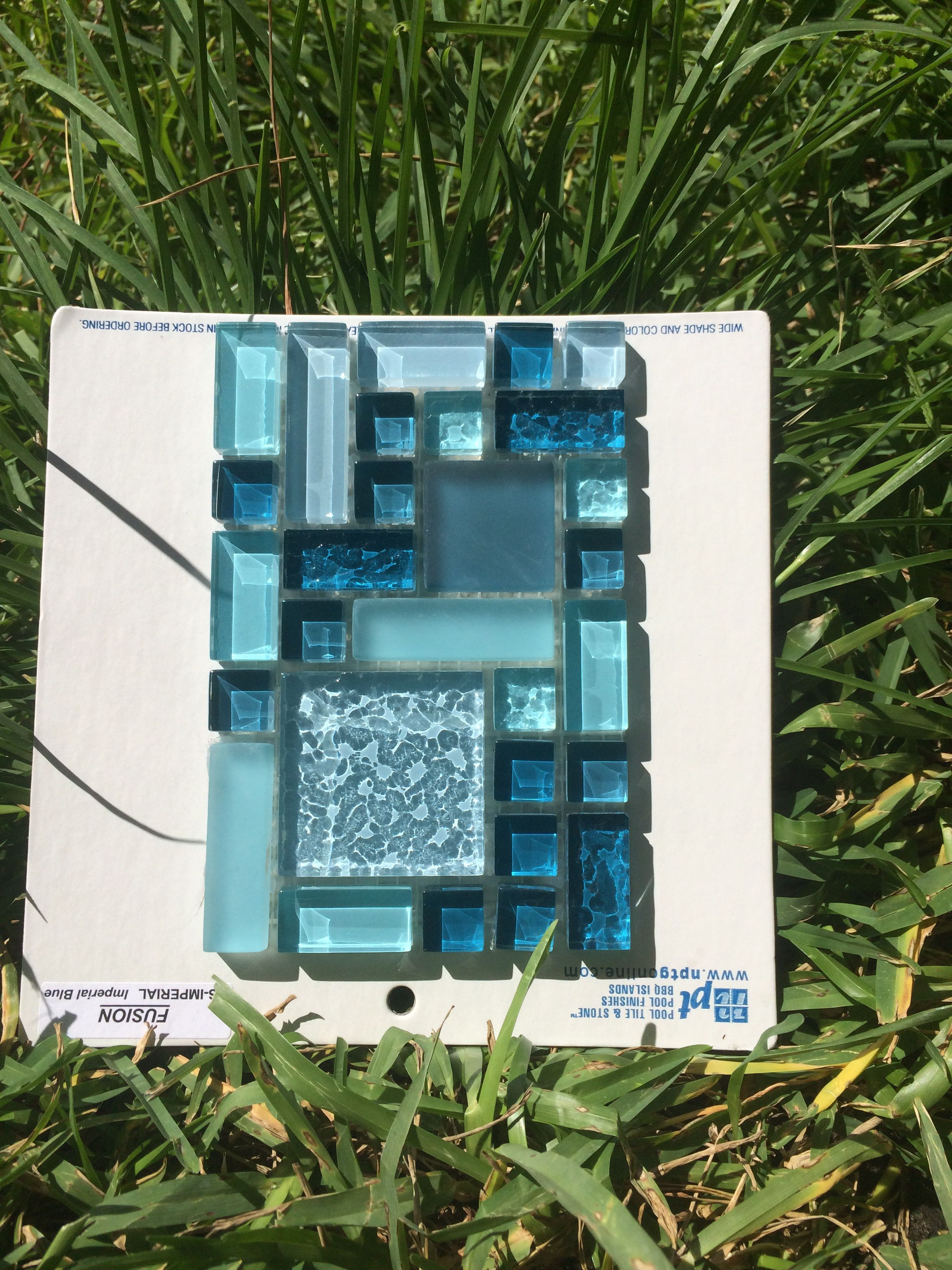 NPT fusion imperial tile. Pool waterline tile. … | Pool tile ...