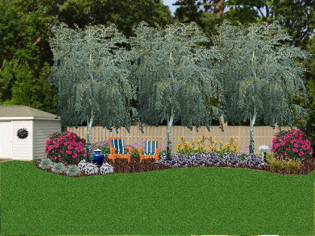 Landscaping Against A Privacy Fence