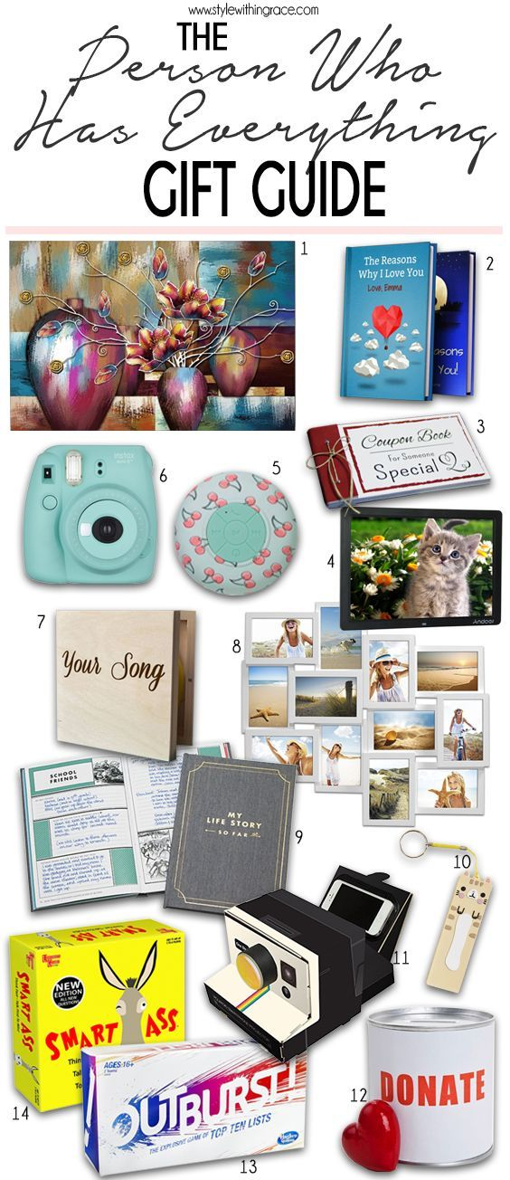 What to Get Someone Who Has Everything: The Gift Guide for ...