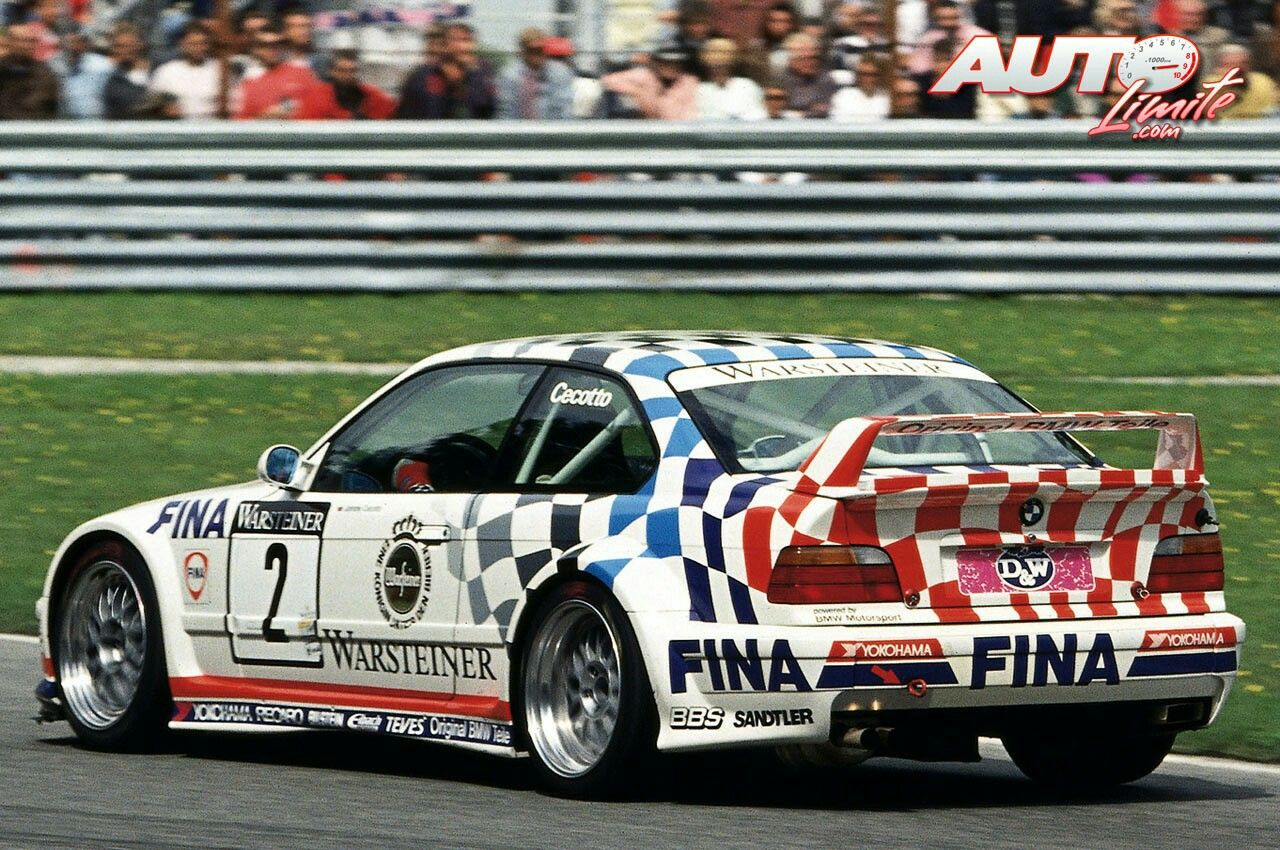 Bmw M3 Gtr E36 Cecotto With Images Bmw Vintage Racing Race Cars