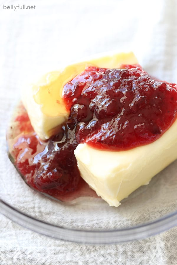 Cranberry Honey Butter