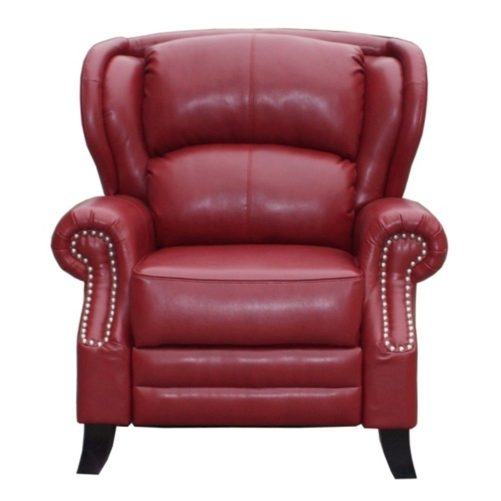 Kingsley Recliner Cherry Red Bonded Leather  sc 1 st  Pinterest & Kingsley Recliner Cherry Red Bonded Leather | Things I Love ... islam-shia.org