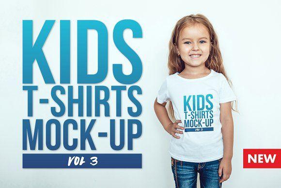 Download Kids T Shirt Mock Up Vol 3 Tshirt Mockup Kids Tshirts Shirt Mockup