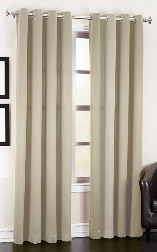 Grommet Curtains With Valance
