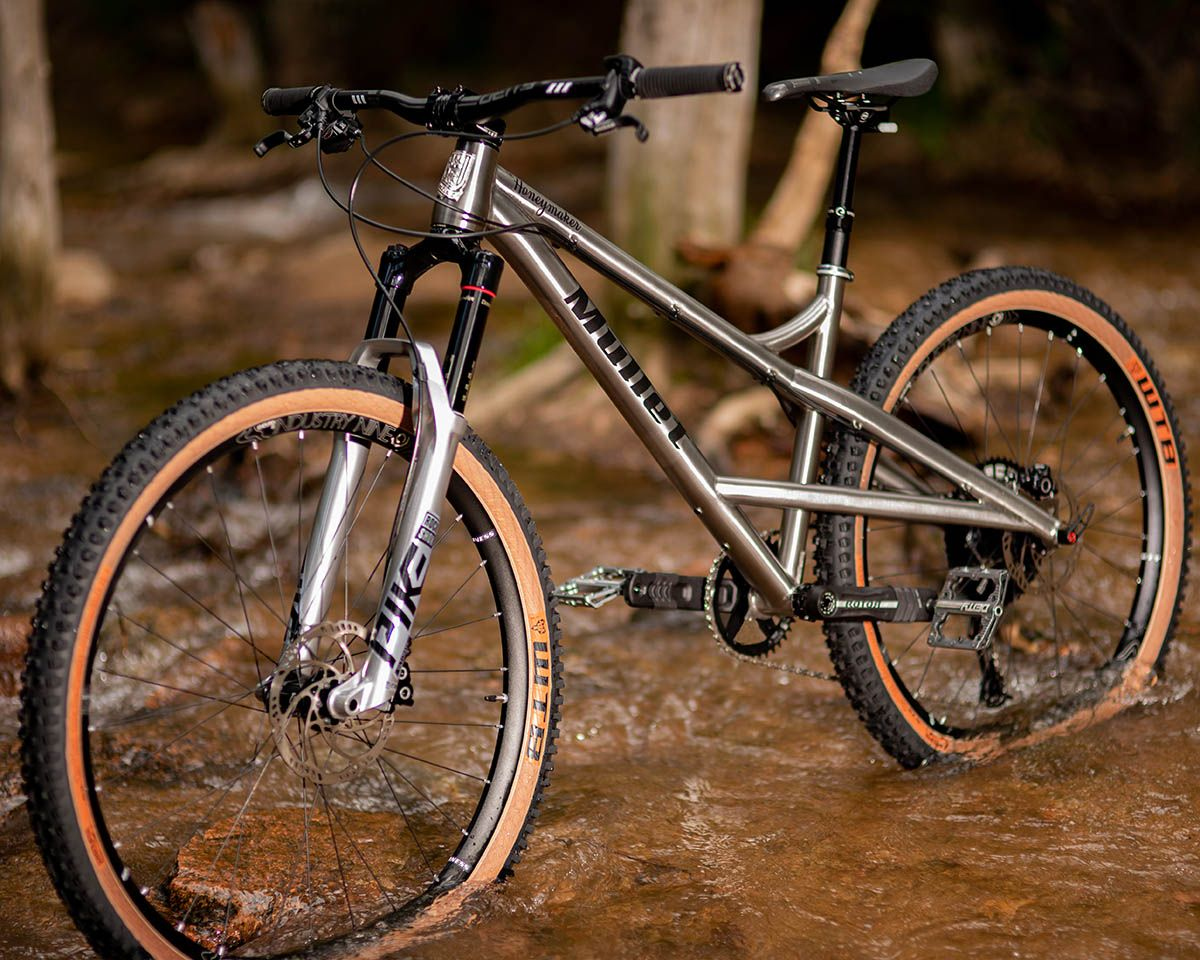 Mullet Cycles Roll Up With The Honeymaker Ti Mixed Wheel Size