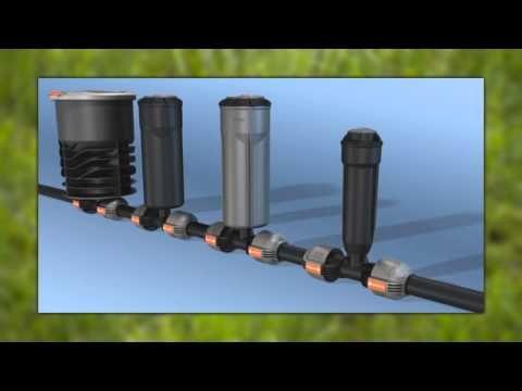 Gardena Sprinklersystem Schulungsfilm 2013 Wasserleitung Garten Sprinkler Bewasserung