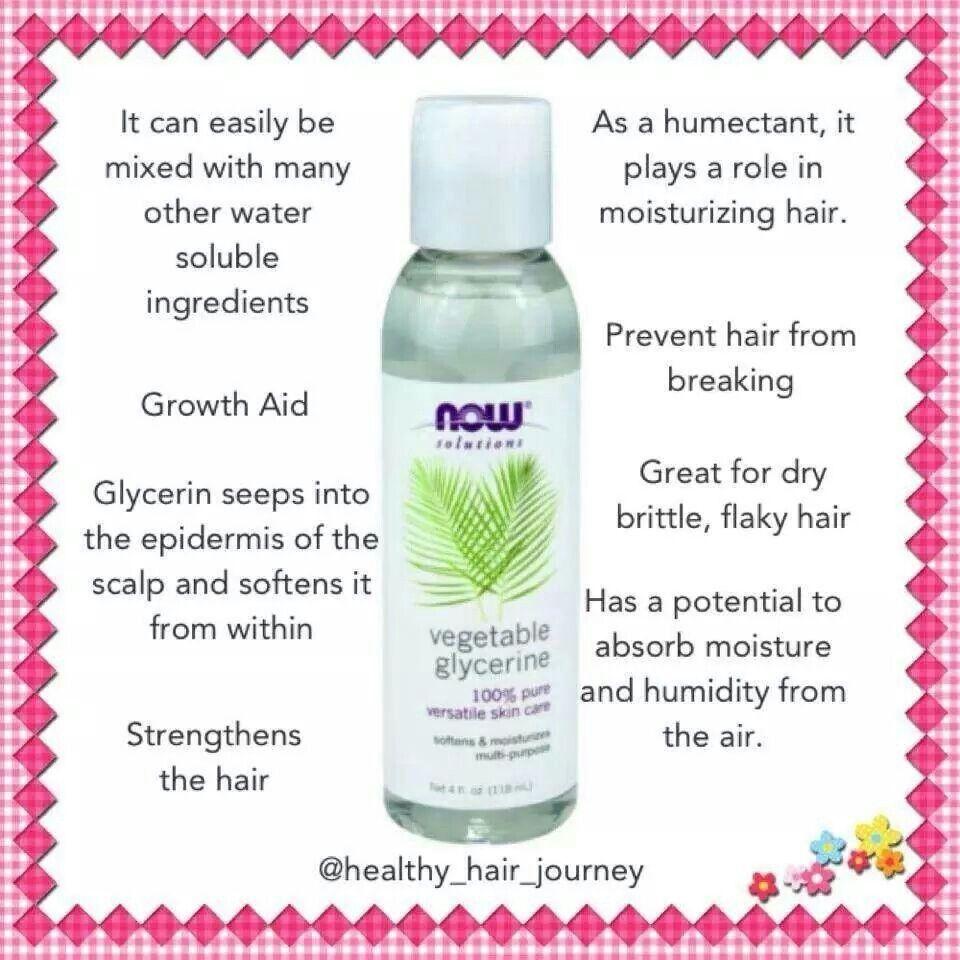 vegetable glycerin benefits | natural hair styles, glycerin