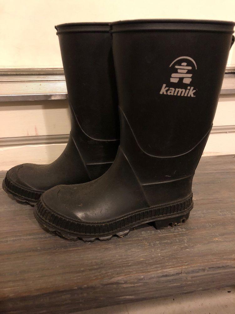 Kamik Rain Boots Boys Size 12 Fashion Clothing Shoes Accessories Kidsclothingshoesaccs Boysshoes Ebay Link With Images Boys Shoes Boots Boys Rain Boots