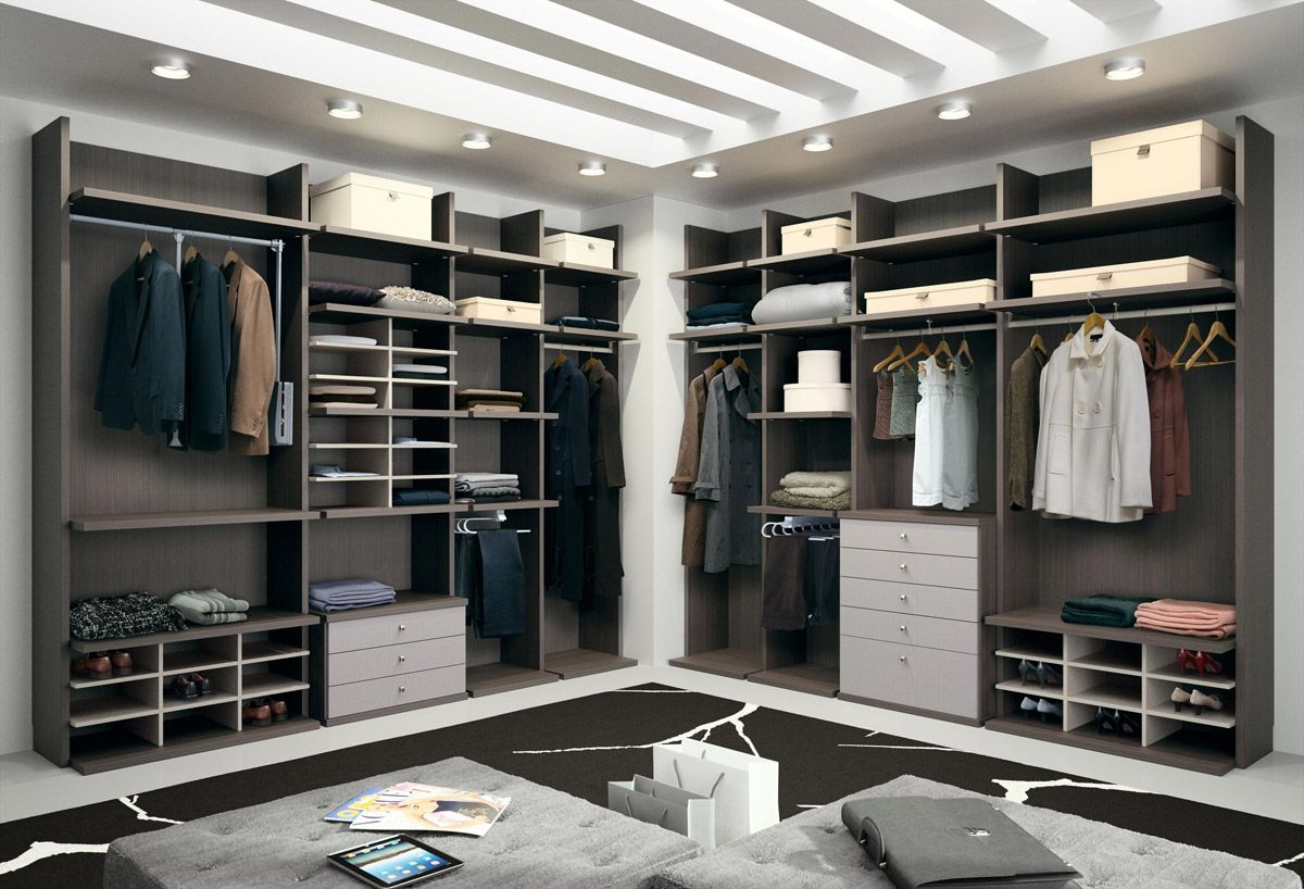 Open wardrobes by muebles hermida closet plan for Hermida muebles