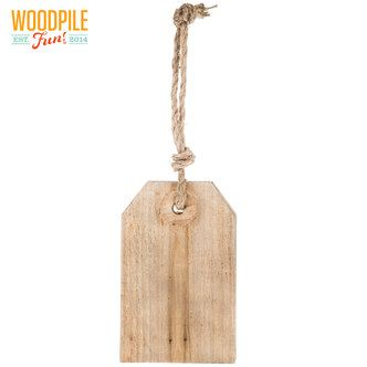 Rustic Wood Tag With Rope Hanger Wood Tags Rustic Wood Wood