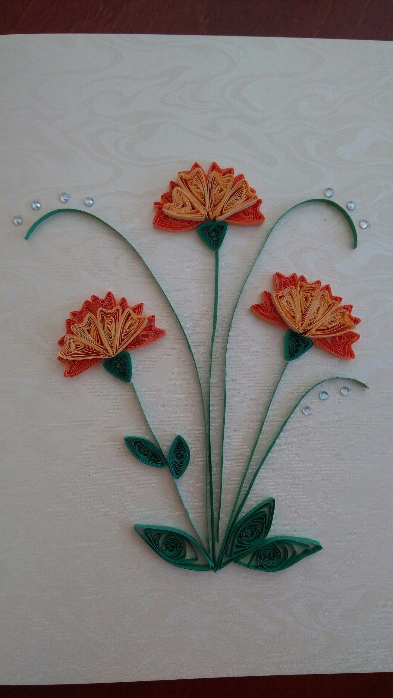 Galeria Quilling Flowers Cards Handmade
