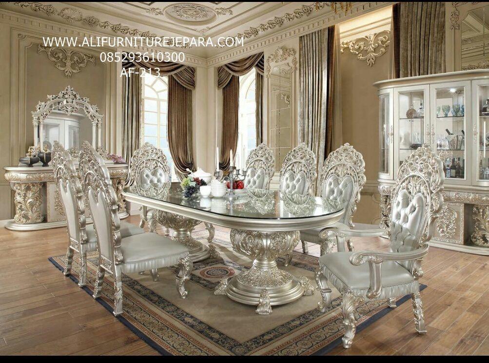 Harga Set Kursi Makan Ukir Klassic Terbaru Af 213 Formal Dining Room Sets Luxury Dining Room Luxury Dining #table #and #chairs #living #room