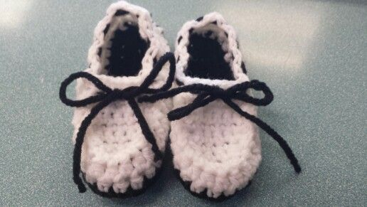 Zapatitos crochet para bebes