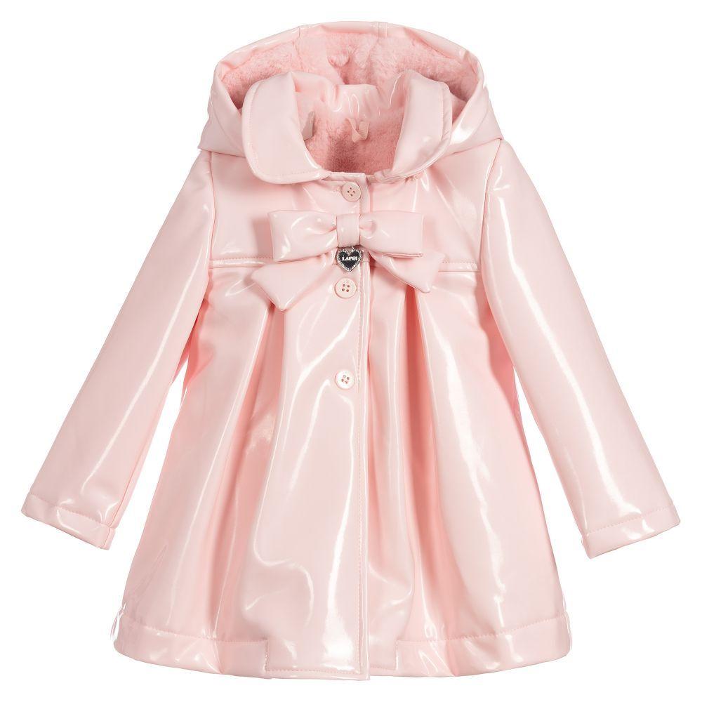 55484ed96 Girls Pink Raincoat
