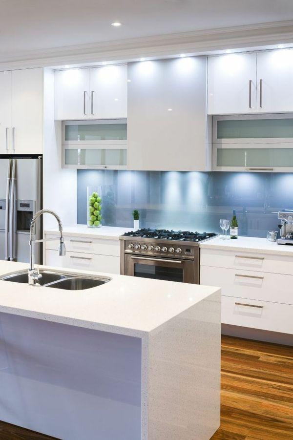votre cuisine moderne en balnc