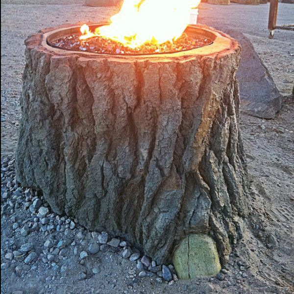 57 Inspiring Diy Fire Pit Plans Ideas To Make S Mores With Your Family This Fall Stump Fire Pit Fire Pit Plans Outdoor Fire Pit Designs