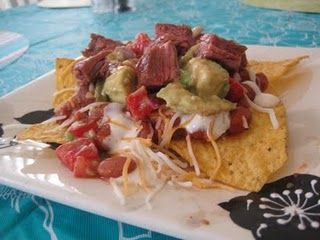 chipotle steak nachos