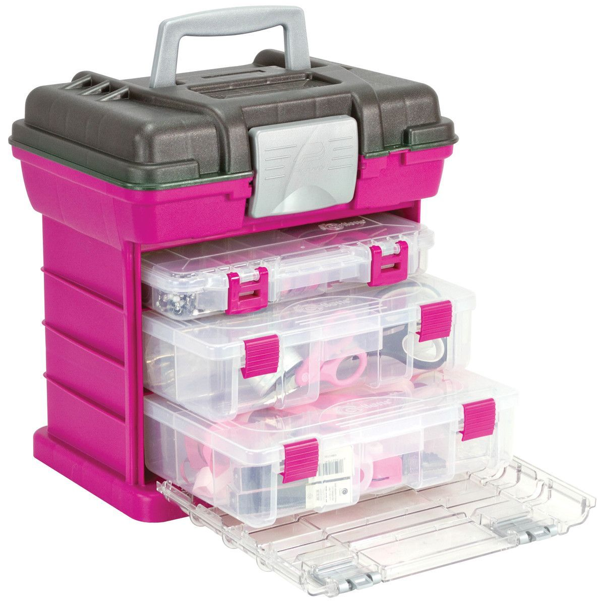 Attractive Creative Options Grabu0027n Go 3 By Rack System Magenta, Sparkle Gray.