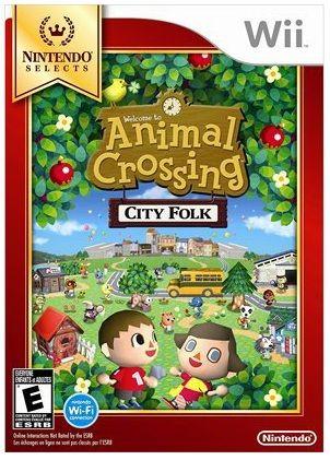Wii - animal crossing city folk