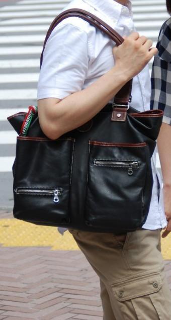 japanese men's trendy bags- es la mejor idea que he visto en mucho ...