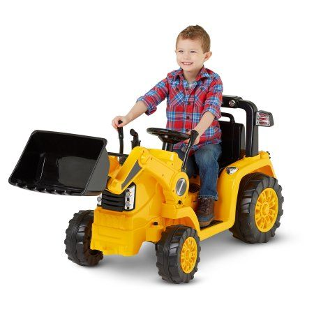 330510f8318 Kidtrax CAT Bulldozer Tractor 6V Battery Powered Ride-On