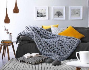 Couverture Super douce et épaisse pour enfants fabriquée à partir de laine  mérinos naturelle réchauffera votre tout-petit au cours de la saison  d hiver. 750e5cb8cae