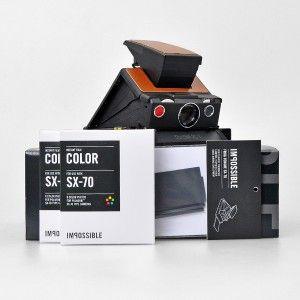 Polaroid™ SX-70 Camera Kit brown