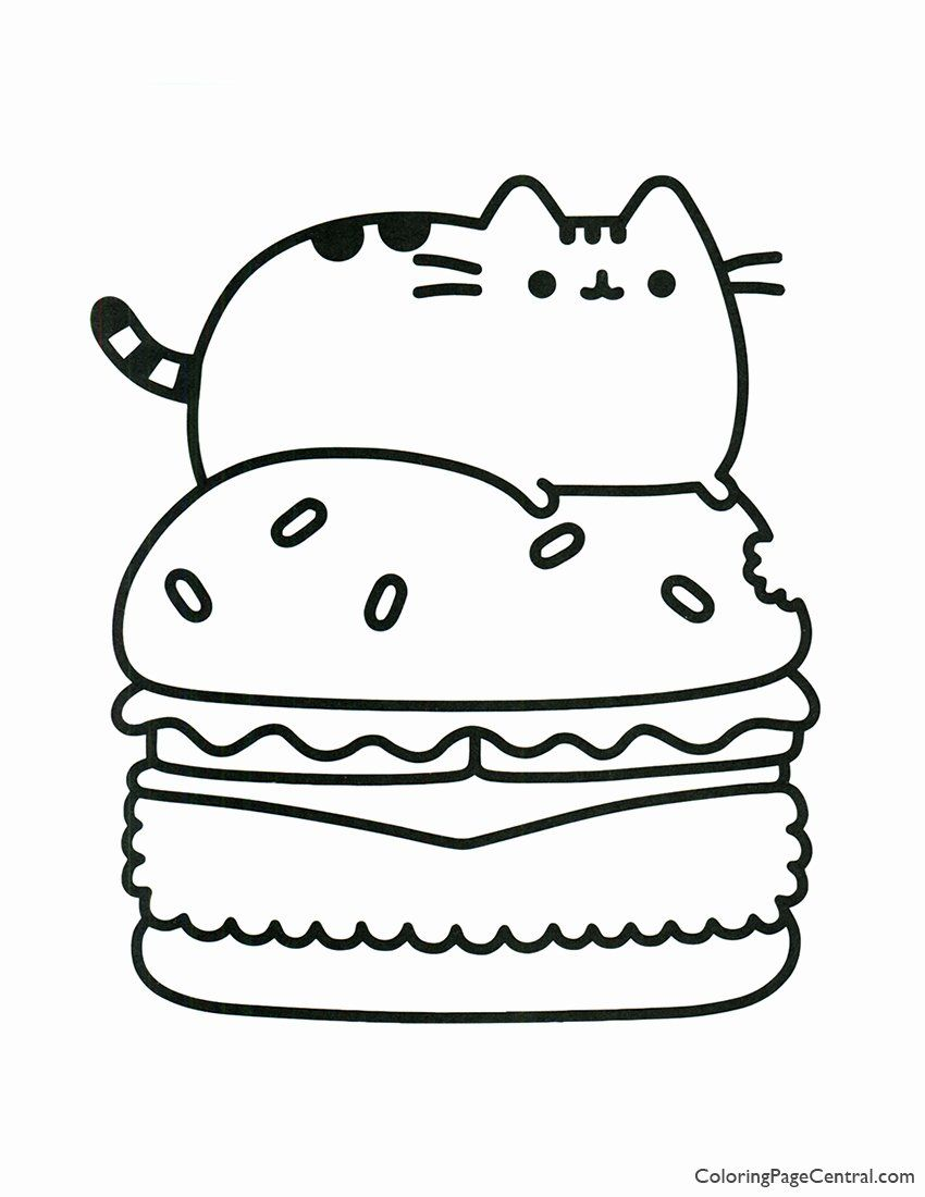 Anime Coloring Food Beautiful Lets Coloring Free Catet Anime Peppa Pig Horse For Kids In 2020 Pusheen Coloring Pages Cartoon Coloring Pages Cat Coloring Page