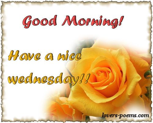 Hi Good Morning Quotes: Wednesday Morning Quotes