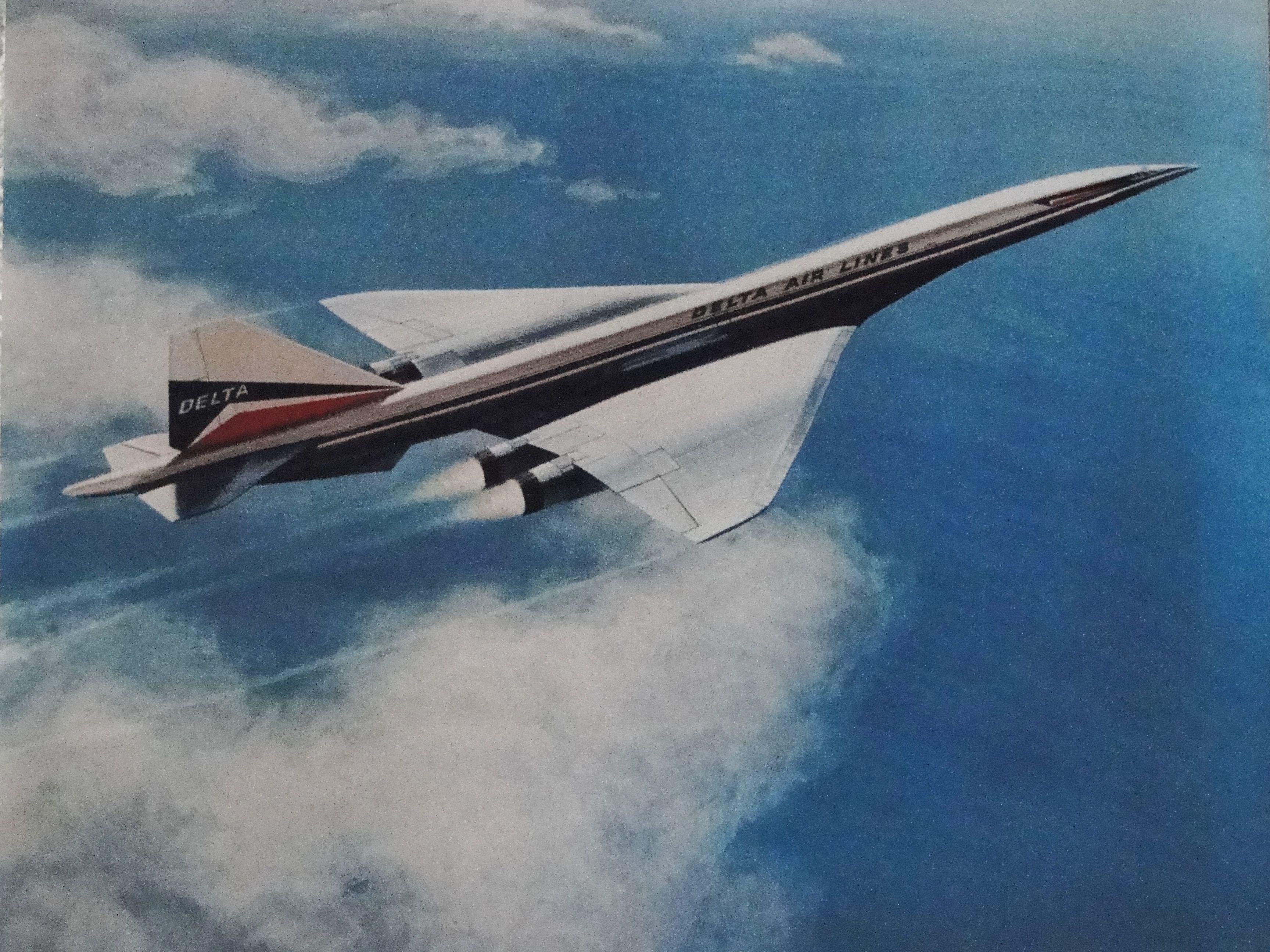 Delta SST Boeing 2707-300
