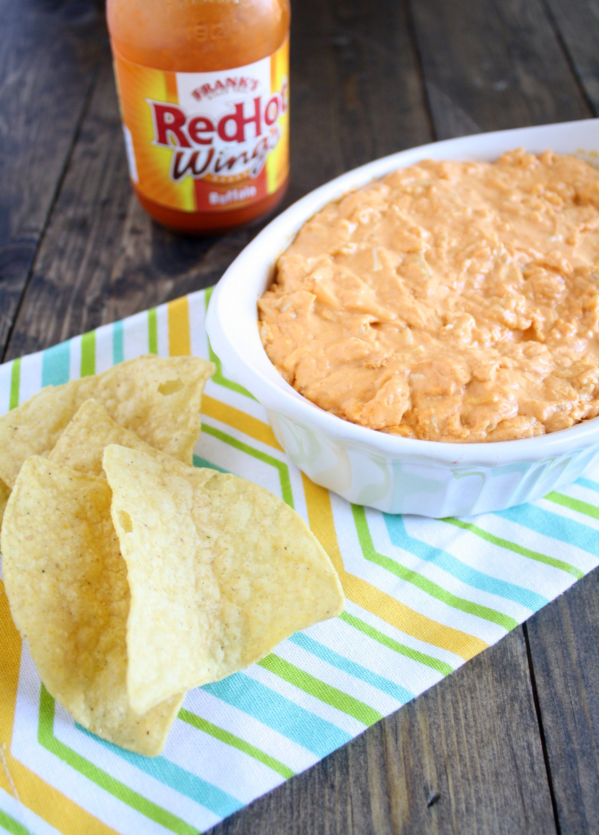 Buffalo Chicken Dip - Live Well Bake Often