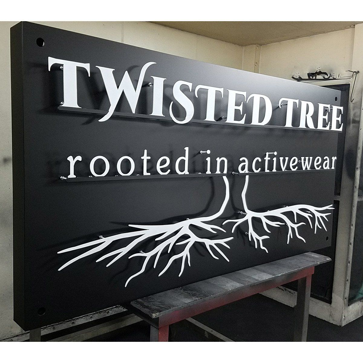 Custom Signs and Cut Outs | Custom Steel Business Signs | Custom