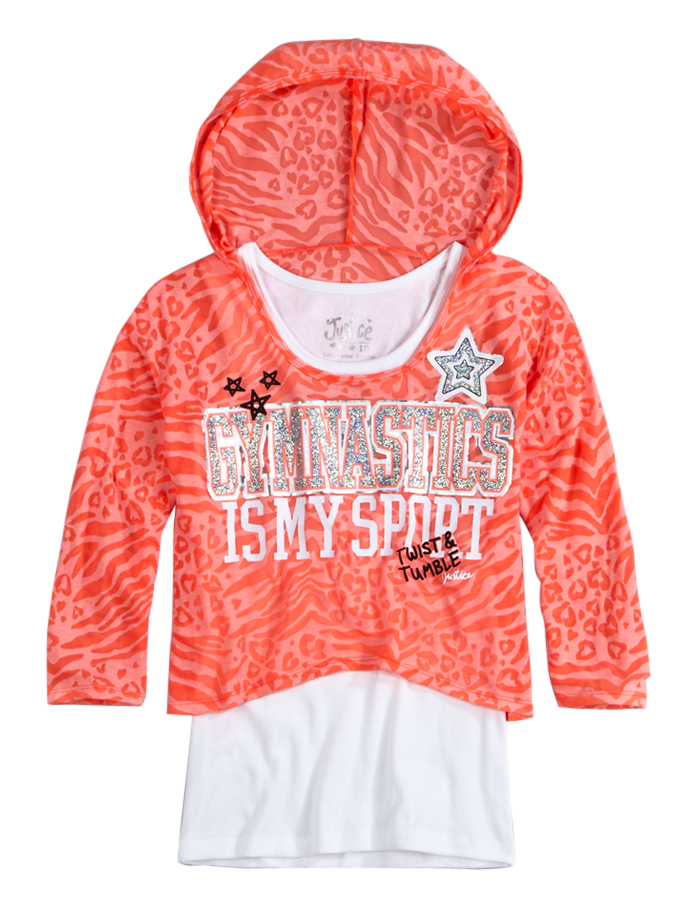 Girls Tops Tunics Graphic Tees Tanks Shop Justice Justice Clothing Clothes Kids Dance Outfits