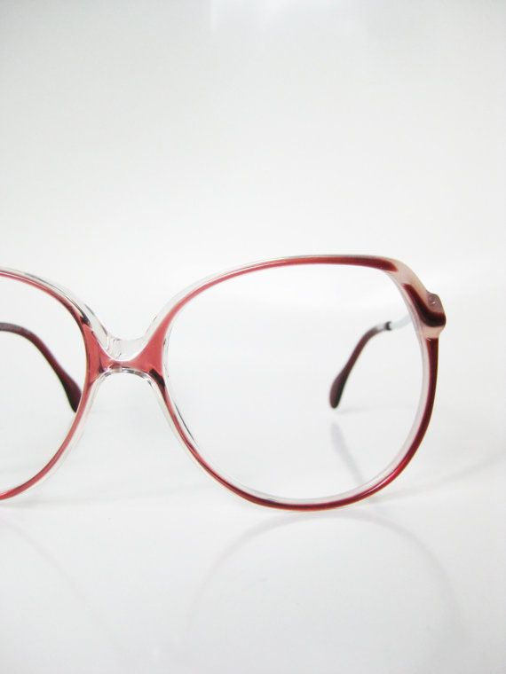 ecf5503c94 Rodenstock Sunglasses 1980s Oversized VIntage Glasses Eyeglasses Huge Indie  Hipster Chic Oxblood Wine Red Brown 80s Avant Garde Eighties