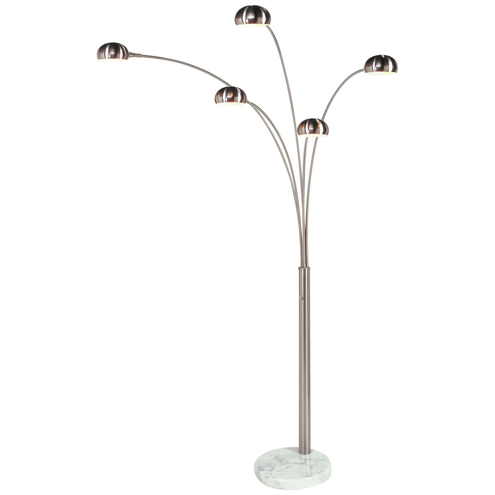 NOVA Of California Mushroom Arc Floor Lamp