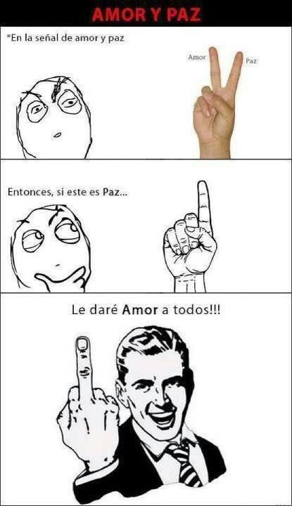 Paz Y Amor Peace Gesture Peace Image Sharing