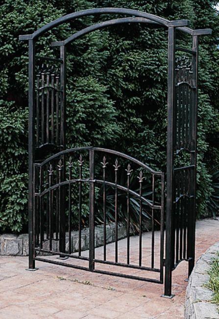 Wrought Iron Arbor Inspiration Iron Garden Gates Garden Arbor