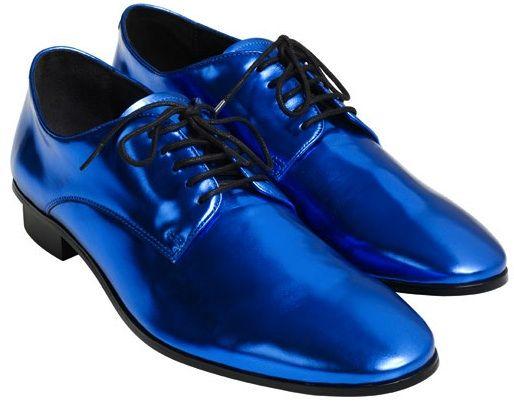 9f030af79e269 lanvin-hm-fashion-men-blue-shiny-derby-laceup-shoes | Dapper Dan ...