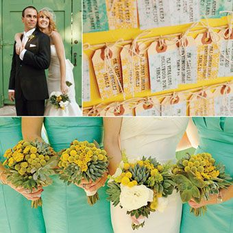 Color Schemes From Real Weddings