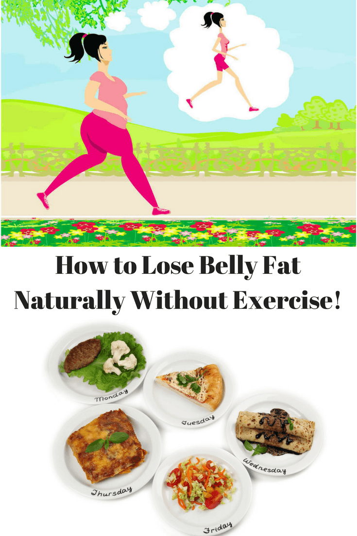 How To Lose Belly Fat Naturally Without Exercise Health Nutrition