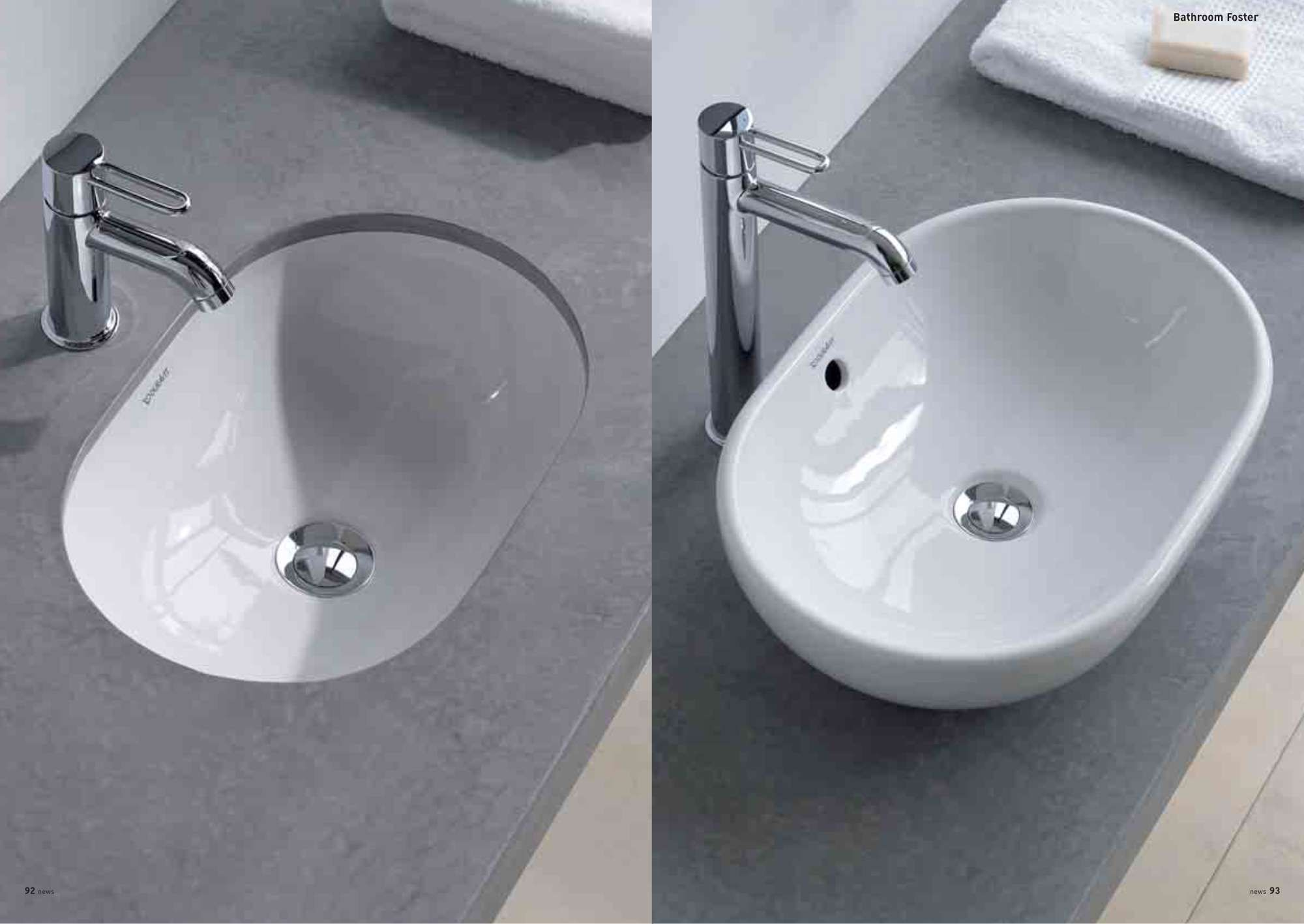 Duravit Foster | Sinks -Mosdók | Pinterest | Duravit, Sinks and ...
