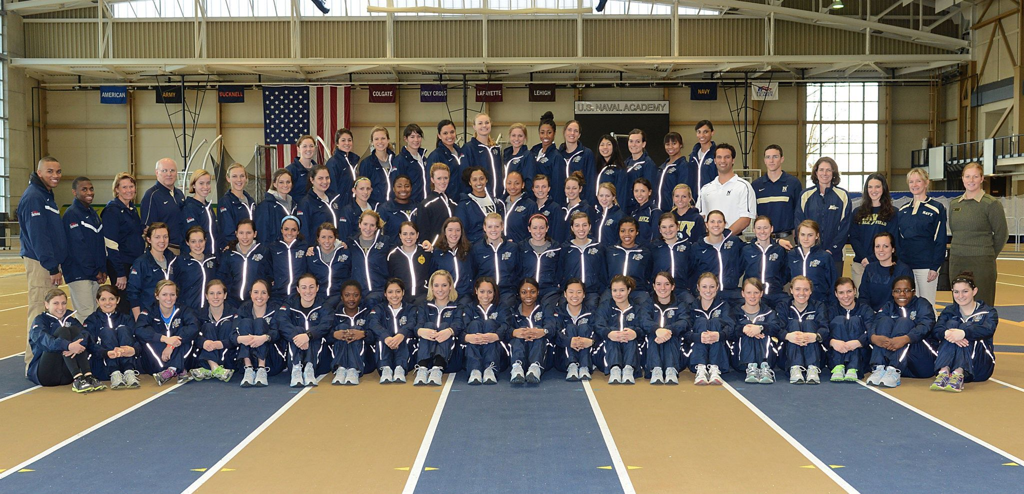 2012 13 Navy Women S Track And Field Team Track And Field United States Naval Academy Naval Academy