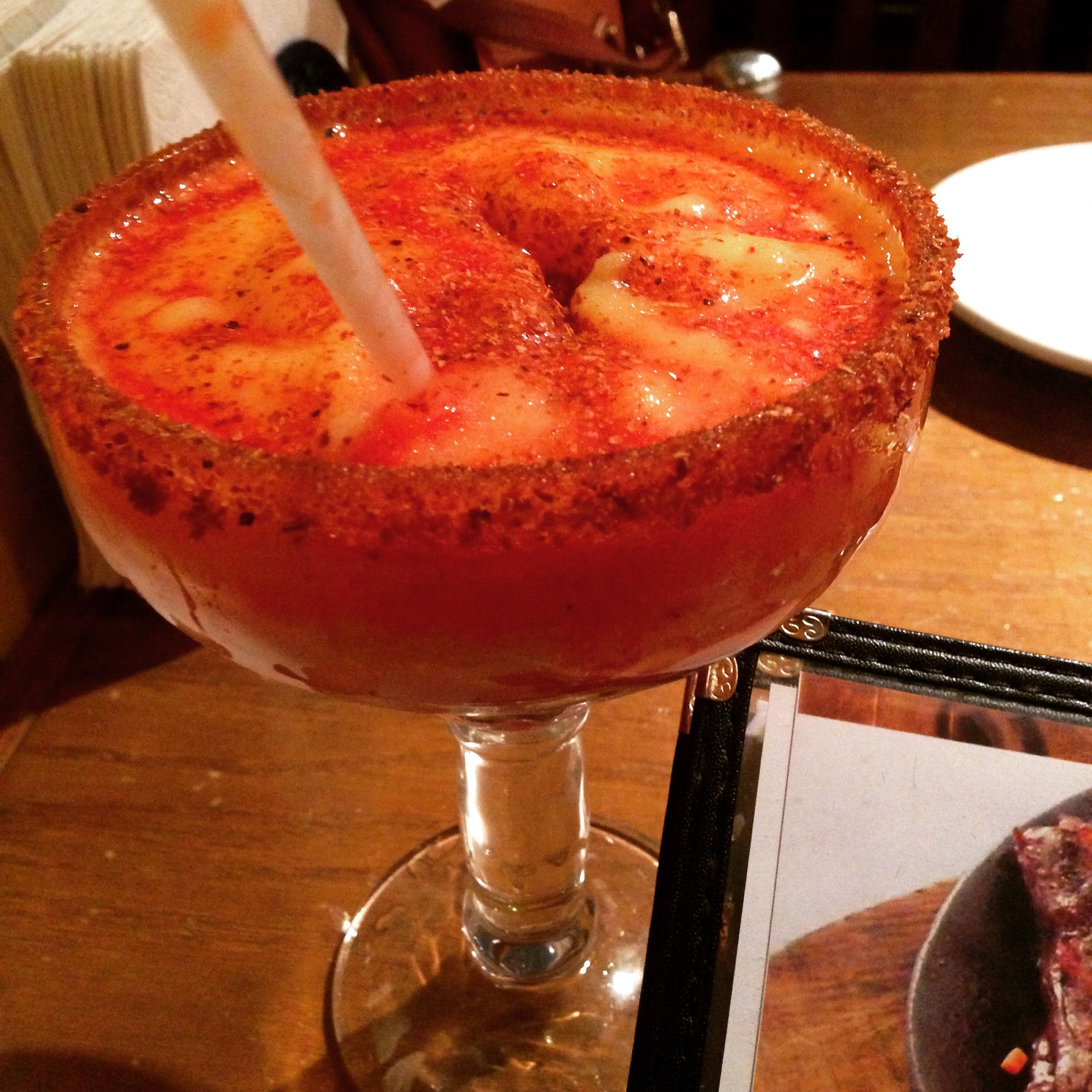 Chamoy Margarita! It's As Good As It Looks!