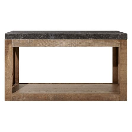 Thayer 57 Console Table In Ashland Natural Gray Console Table