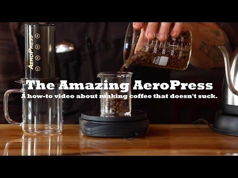 AeroPress Coffee | How-to Make a Great Cup at Home! - YouTube