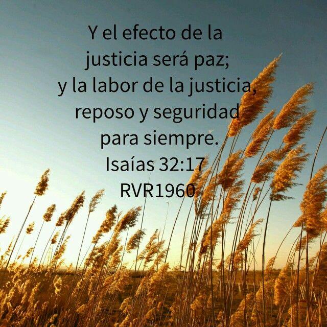 Isaías 32:17