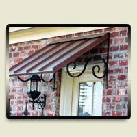 Copper Awning House Awnings Metal Awning House Exterior